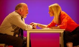 Kenneth Cranham and Anne-Marie Duff in Heisenberg: The Uncertainty Principle at Wyndham's, London.