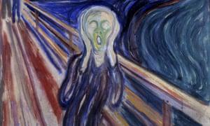 The Scream, by Norwegian artist Edvard Munch