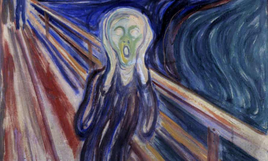 Munch's The Scream was stored by thieves in a van painted like a Batmobile.
