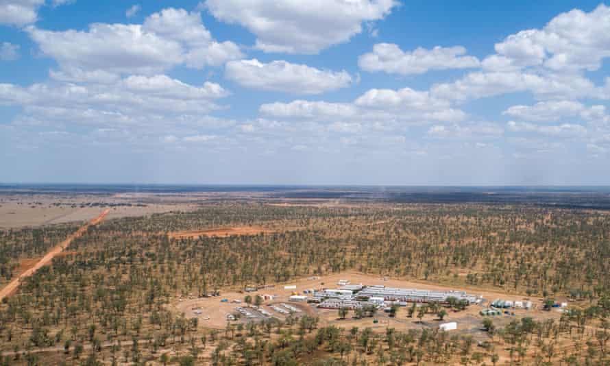 Adani mining site in north Queensland