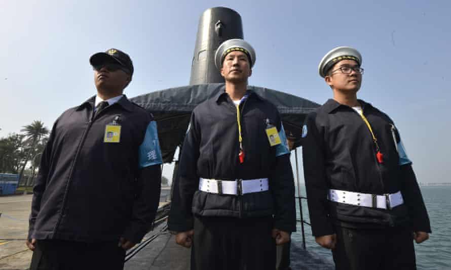 Taiwanese sailors