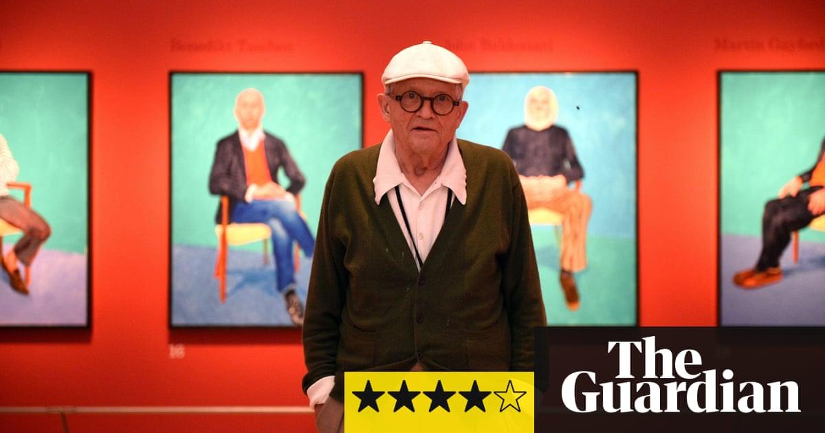 David hockney ra 82 portraits and 1 still life review for David hockney venezia