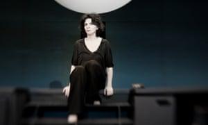 Juliette Binoche in Antigone at the Edinburgh International Festival 2015.