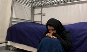 Narges (pictured) and Daryoush, Afghan Hazara siblings in their mid-20s, have been separated from their sister and parents on Nauru for more than four years.