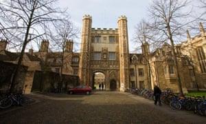 Trinity College in Cambridge