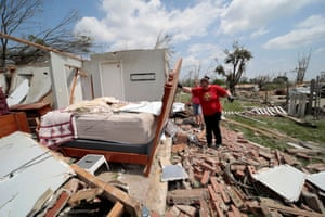 After the tornado: storm damage in the US – in pictures