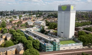 Grenfell Tower in June this year.