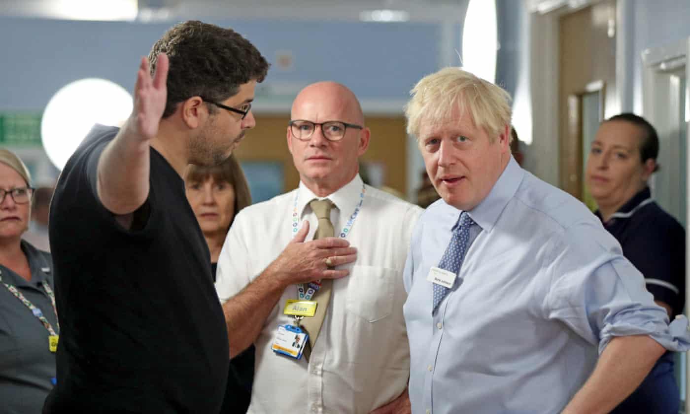 Daughter of Boris Johnson hospital heckler doing better