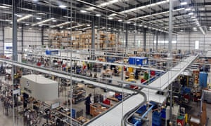 Inside the Brompton Factory in London