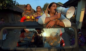 A scene from Main Kuch Bhi Kar Sakti Hoon, or I, A Woman, Can Achieve Anything.