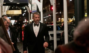 Erik Prince arrives for the New York Young Republican Club Gala at the Yale Club of New York City in Manhattan on 7 November 2019.