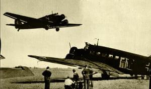 Aircraft of the German Condor legion, 1936.