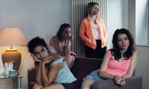 Anca Dumitra (right) as Ana in Doing Money.