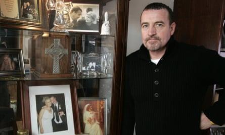 Malachy McAllister, a former member of the paramilitary Irish National Liberation Army.