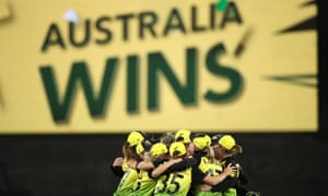 Australia's Alyssa Healy was named the player of the final