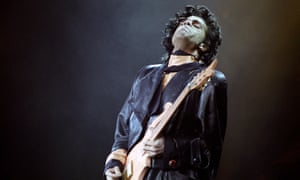 Prince performing in Germany, 1987.