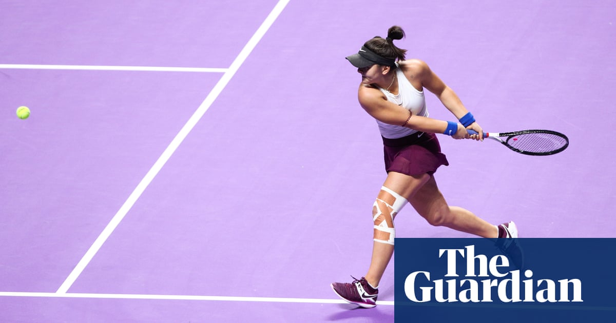 US Open champion Andreescu out of Australian Open with knee injury