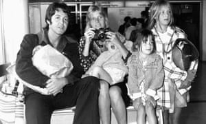 Linda And Paul McCartney With Their Children James Mary Stella In September 1974