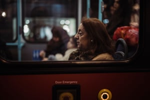 'I always liked that kind of photography and thought I'd like to explore buses more myself. Buses are my favourite form of public transport, especially as I live in London. They move all kinds of people and you share your lives with them for brief moments, intercepting with them'
