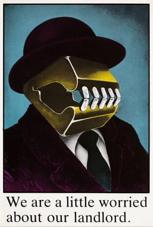 Landlord poster, 1986, John Phillips