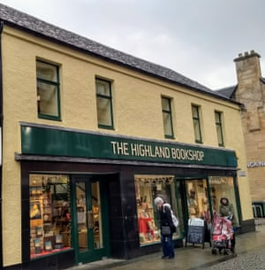 'People ask me what's the daftest thing you've done? Open a bookshop in Fort William' … Kevin Ramage, owner of The Highland Bookshop