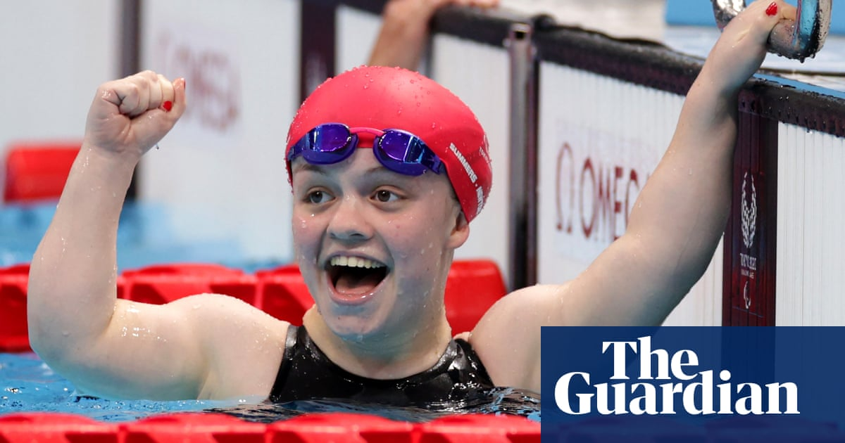 Kearney and Summers-Newton smash world records to claim Paralympic gold