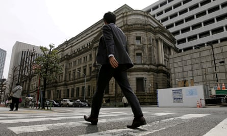 The Japanese authorities' failure to act was party to blame for a decade of economic stagnation.