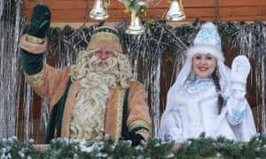 Father Frost, the Russian version of Santa Claus, was banned from Tajik TV in 2013.