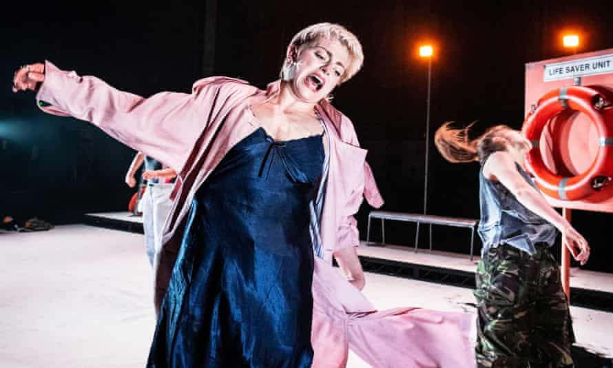 Under pressure ... Shelley Eva Haden and Marla King in Drowntown.