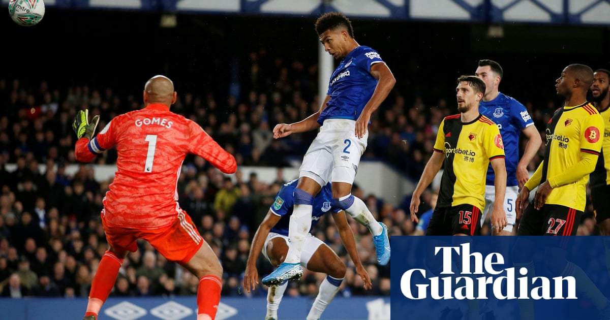 Relief for Marco Silva after Everton's Holgate and Richarlison sink Watford