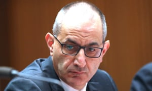 Department of Home Affairs head Mike Pezzullo warns white supremacists 'the scrutiny and pressure that you are under will only intensify'.