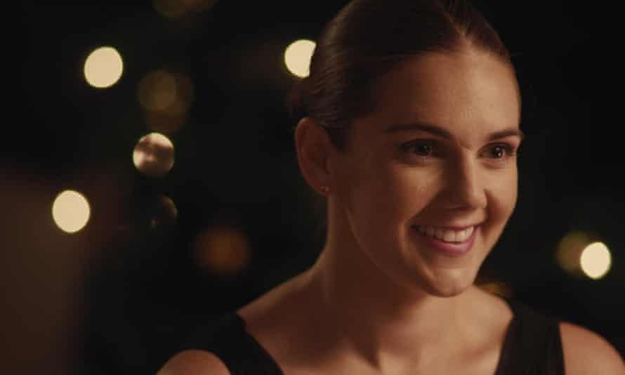 Killing Dan ... Sarah Roy as Catherine in Zebra Girl.