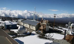 NOAA Mauna Loa Weather Observatory in Hawaï