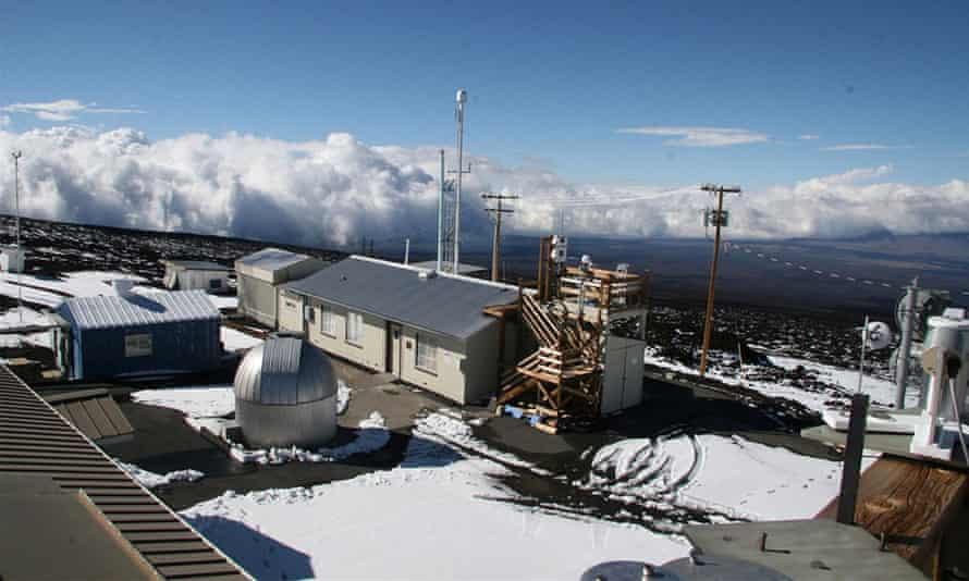 NOAA Mauna Loa Weather Observatory in Hawaï