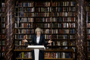 May launches her leadership bid