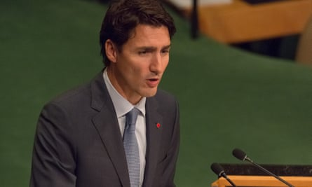 Canadian prime minister Justin Trudeau. The government confirmed on 25 September 2016 that a Canadian had been taken hostage in Libya.