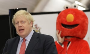 Our one and true prime minister. And some bloke called Boris Johnson