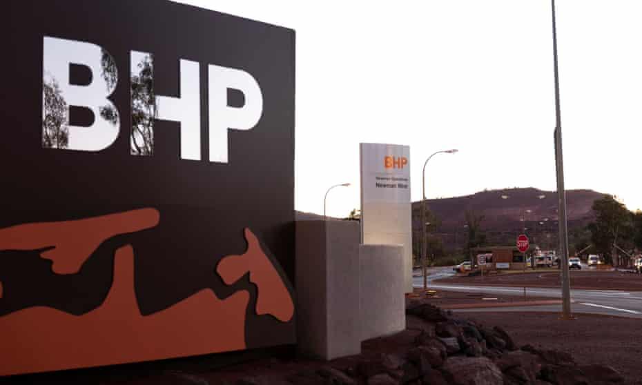 BHP site in Australia