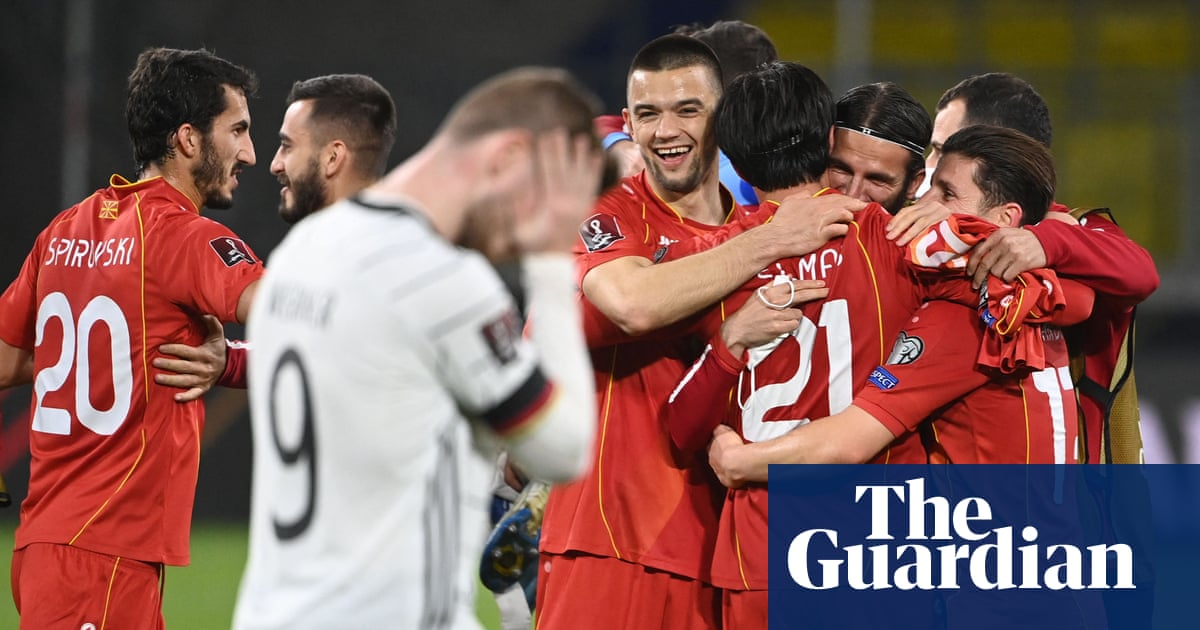 North Macedonia inflict historic World Cup qualifying defeat on Germany