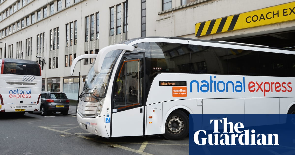 National Express reports £445m loss for 2020 after 80% drop in passengers