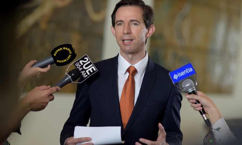 Australian Education Minister Simon Birmingham