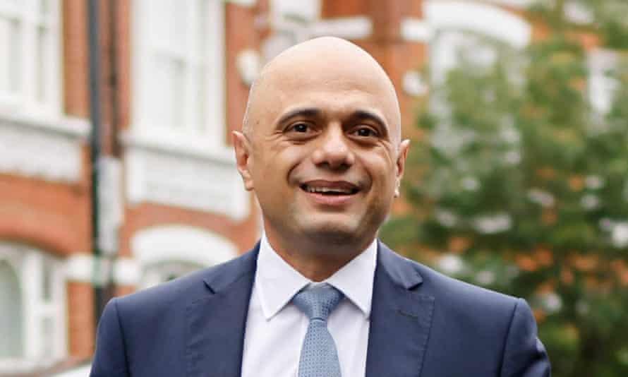 The health secretary, Sajid Javid