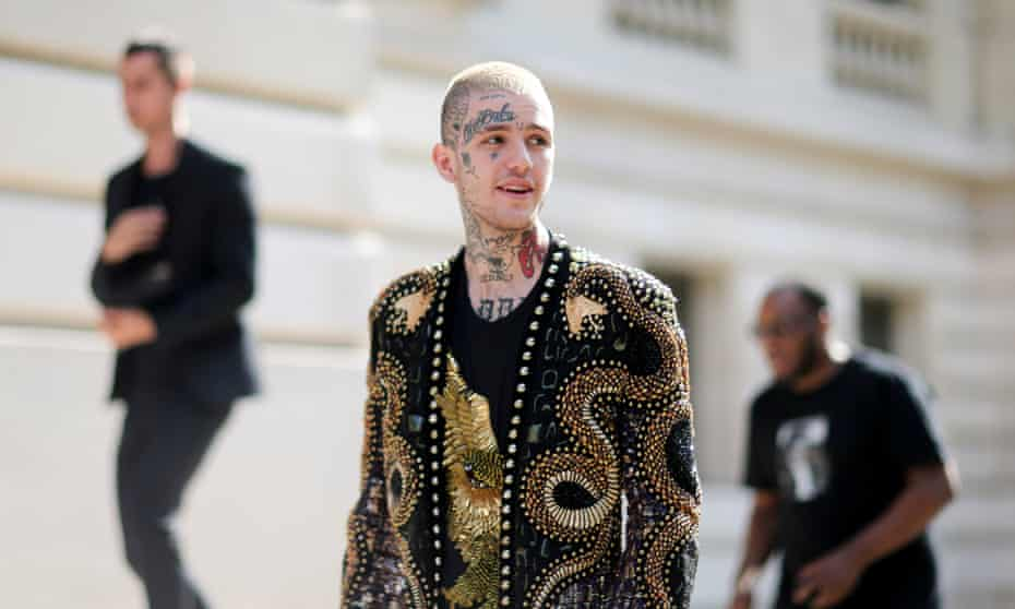 New York-born rapper Lil Peep, who has died aged 21.