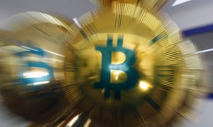 DeeCrypto retail store selling cryptocurrency mining equipment opens in Moscow<br>MOSCOW, RUSSIA  MARCH 1, 2018: Balloons with a Bitcoin logo at the DeeCrypto retail store selling cryptocurrency mining equipment by such brands as Bitmain, GPU, KeepKey, Embedded Downloads LTD, Ledger, etc. Artyom Geodakyan/TASS (Photo by Artyom Geodakyan\TASS via Getty Images)