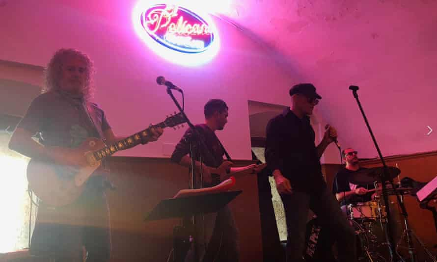 Live music at Cafe Pelicano