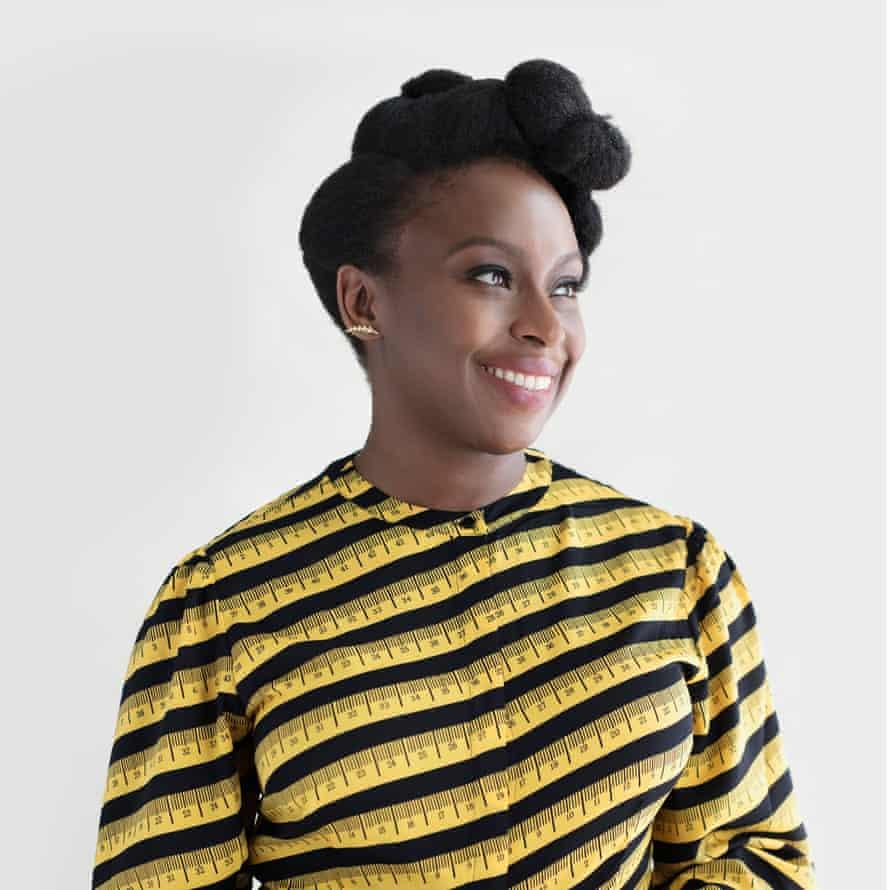 'My purpose is to be a storyteller': Chimamanda Ngozi Adichie.
