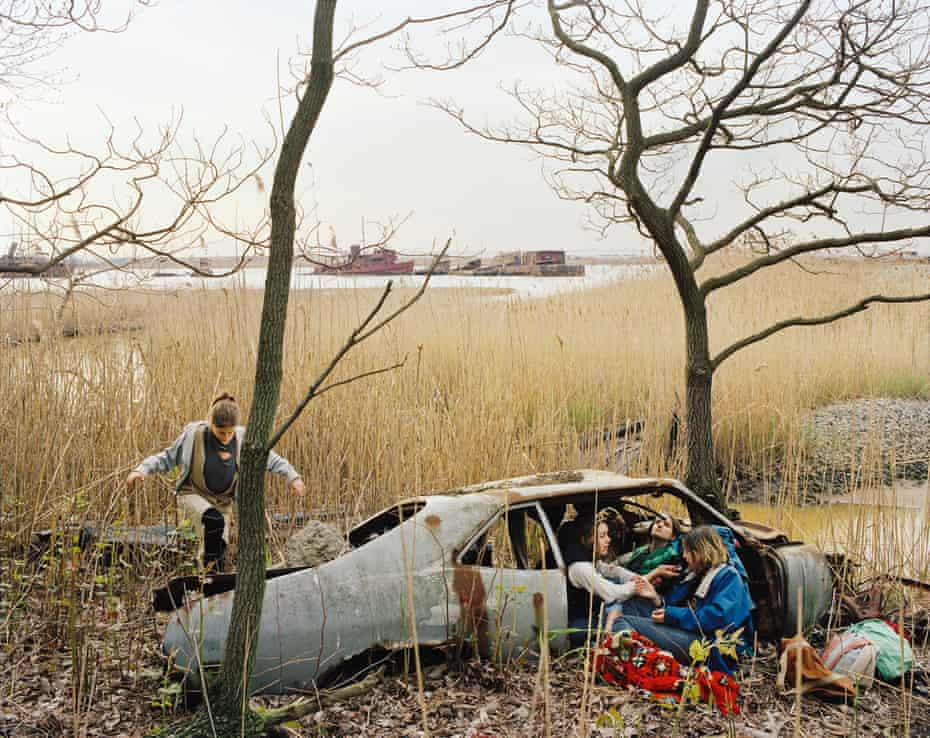 Shipwrecked, 2000 by Justine Kurland