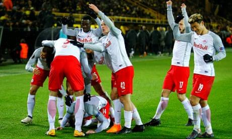 Europa League roundup: Atlético cruise but Dortmund stunned by Salzburg