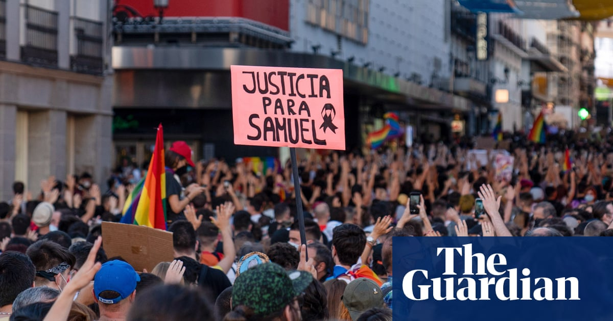 Protests across Spain after gay man beaten to death in Galicia
