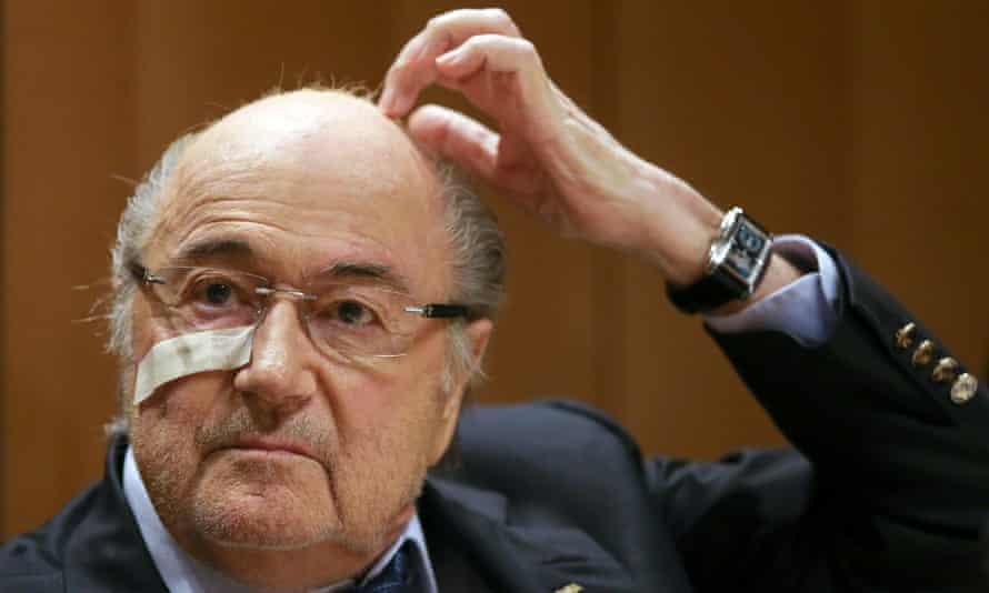 Suspended Fifa president Sepp Blatter